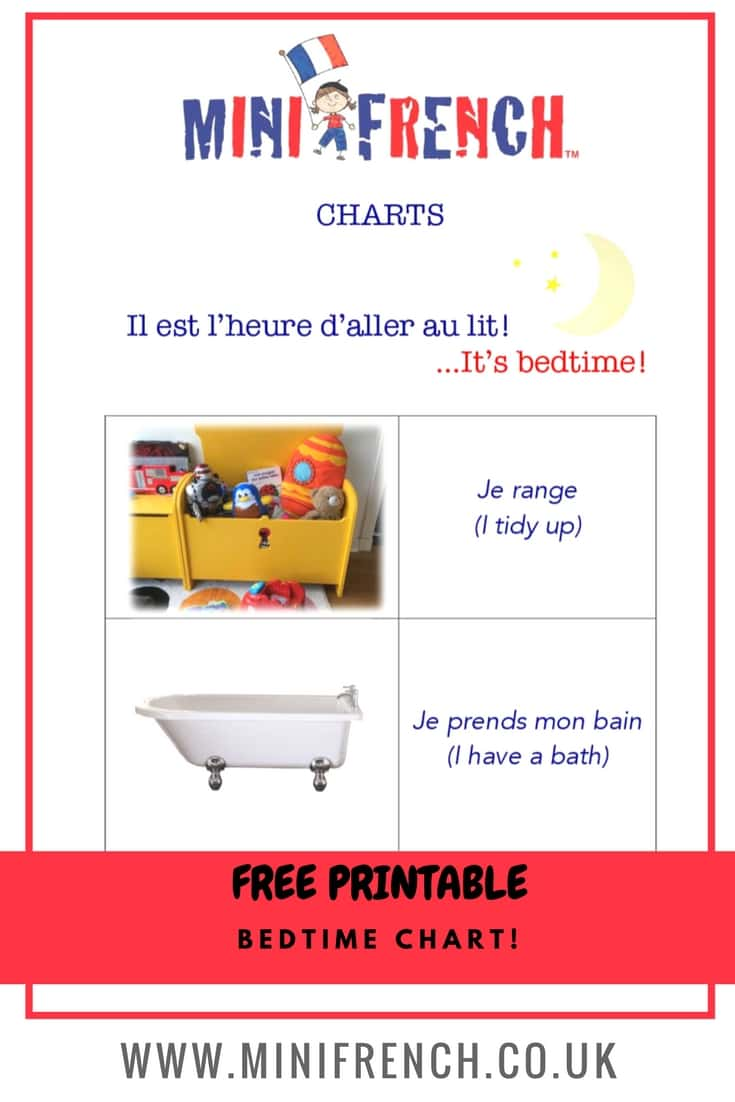 French Bedtime Routine Mini French