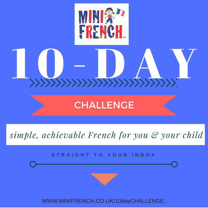 how teach young child french