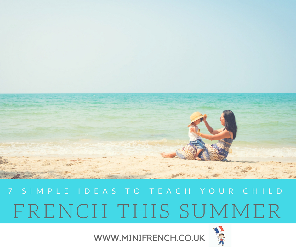 7 simple ideas to teach your child French babies and kids