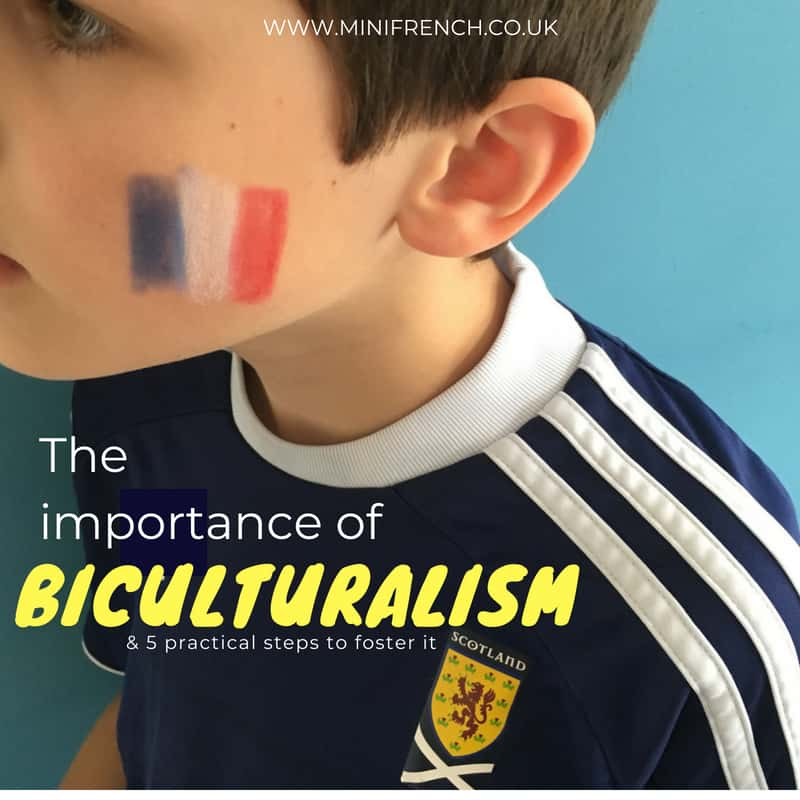 BICULTURALISM CHILDREN teach french babies and kids