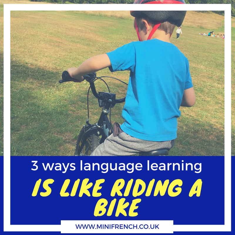 Riding a Bike_language learning