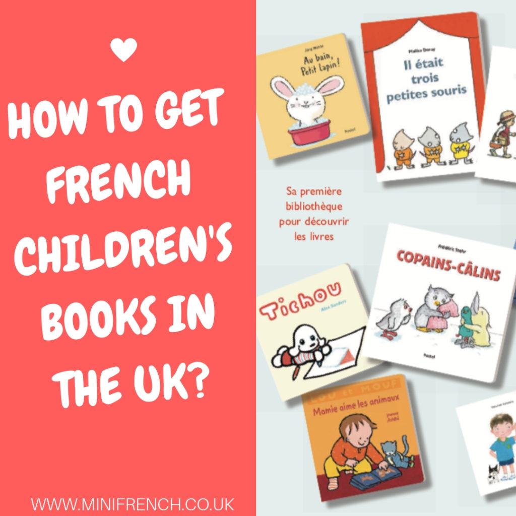 French children books in the UK