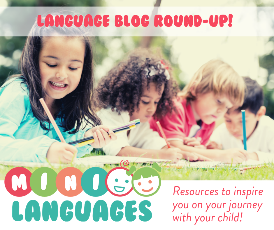 Language Blogs for kids bilingual monkeys
