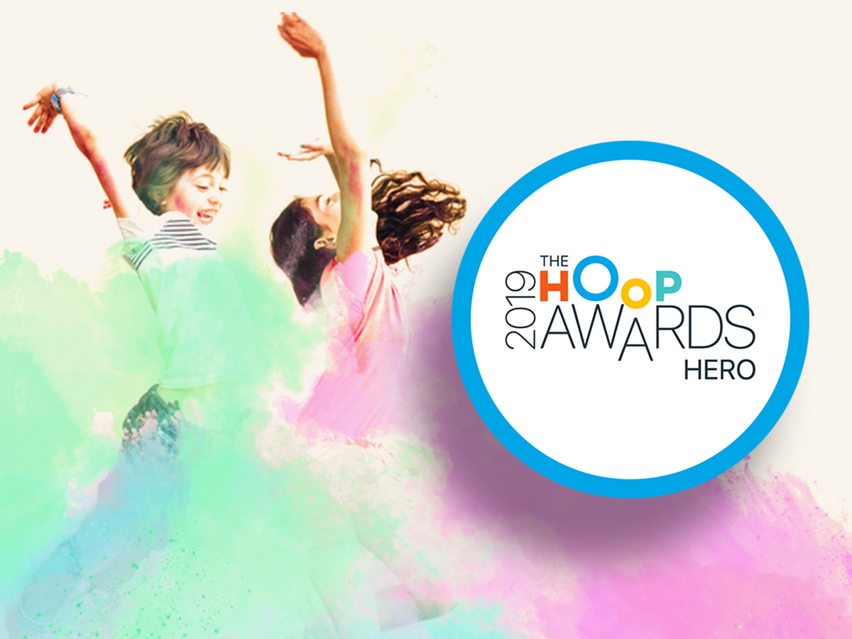 Hoop Awards 2019 - Hero Facebook Best Kids class Edinburgh